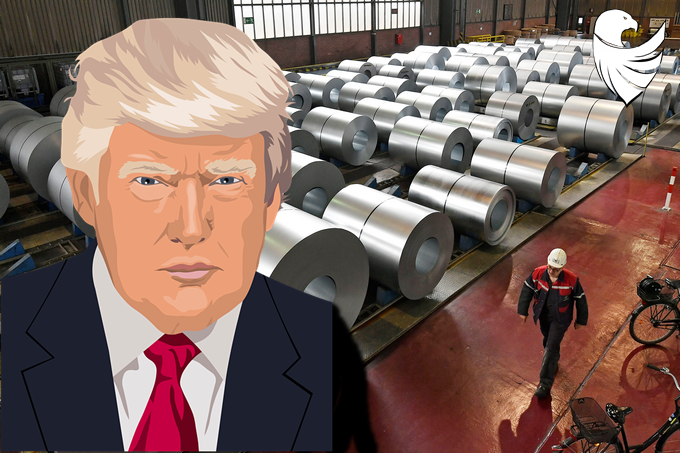 dold Trump defeated the Steel War