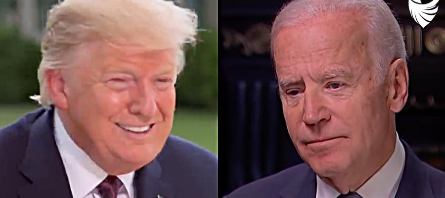 "President Trump SLAMS Biden as ""Weak Mentally"""