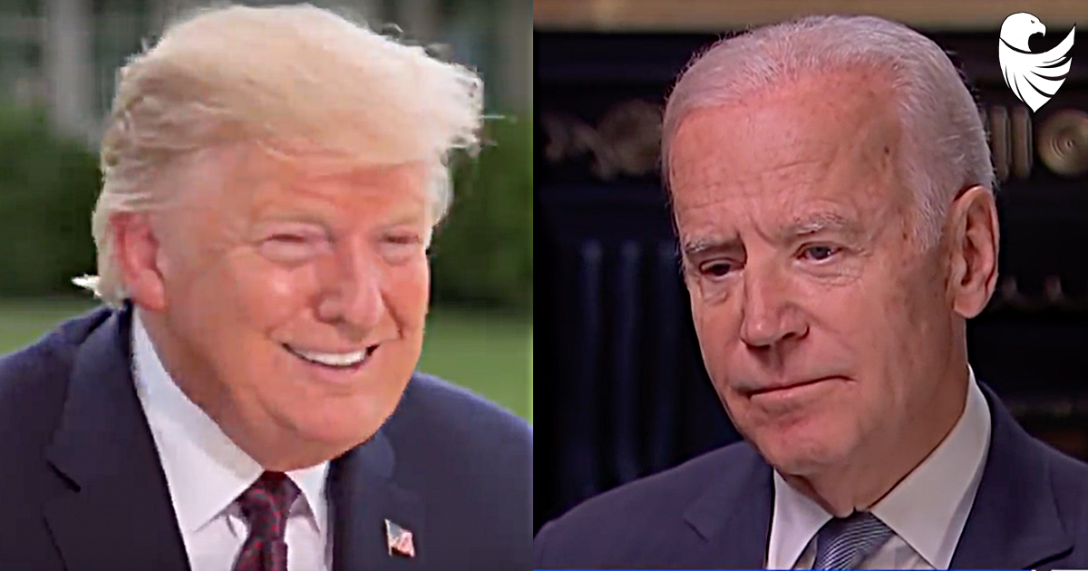 "President Trump SLAMS Biden as ""Weak Mentally"""