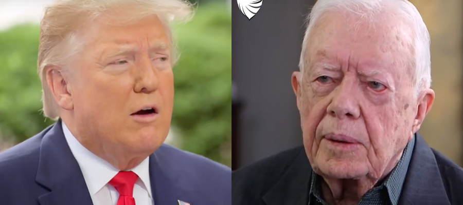 "BREAKING: Trump Fires Back at Jimmy Carter ""A Terrible President"""