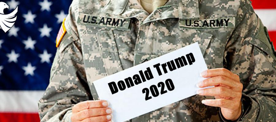America and President Donald Trump 2020