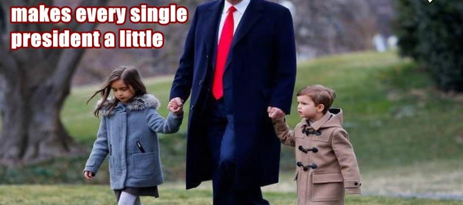 I love you daddy with a dime that makes every single president a little