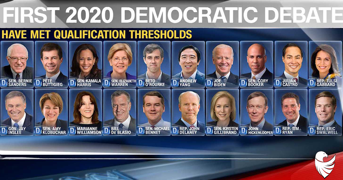 Online Polling Shows Surprise Winner to Democrat Debate