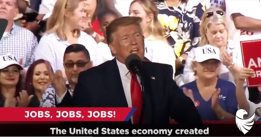 President Trump :I am working hard for the American people. Our economy continues to be the ENVY of the world +VIDEO