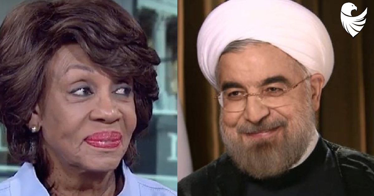Maxine Waters Sides with Iran on Drone Controversy and AGAINST the U.S. Pentagon