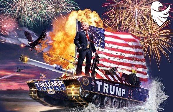 ABC, CBS, NBC & MSNBC Refuse to air 4th of July Celebration