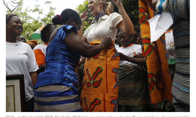 Ivory Coast passes legislation encouraged by Ivanka Trump