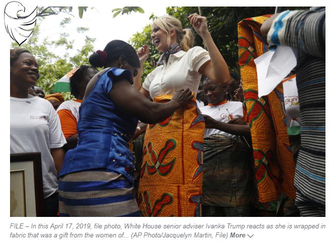 Ivory Coast passes legislation encouraged by Ivanka Trump
