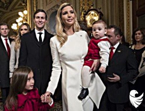 Ivanka Trump and Jared Kashner: Success comes with the job.