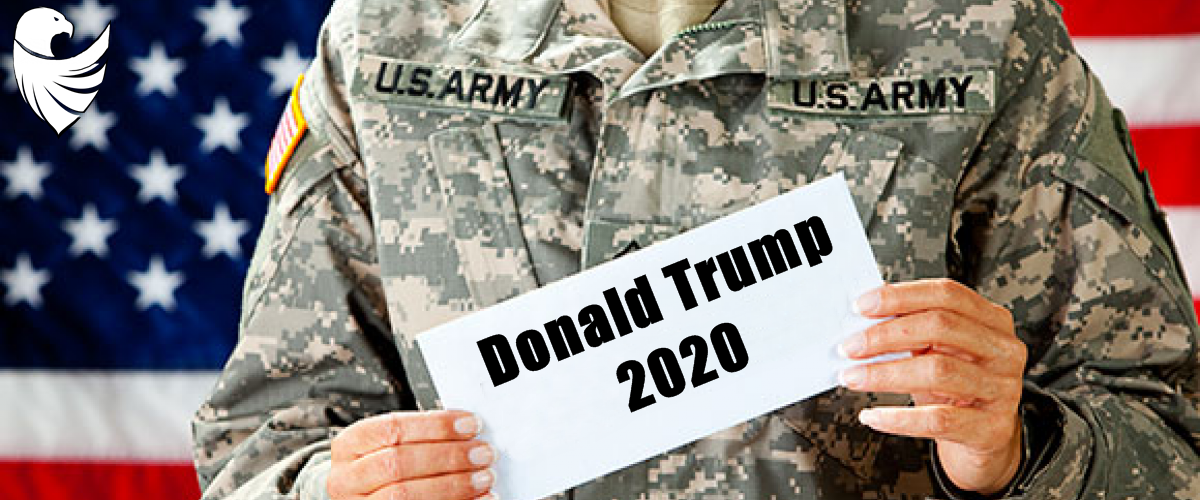 America and President Donald Trump 2020
