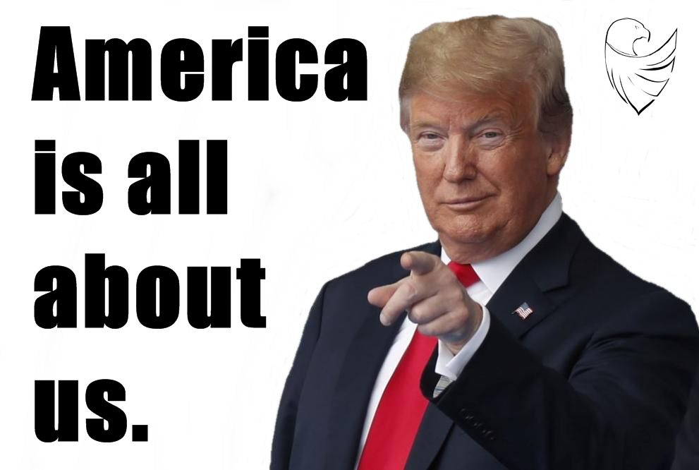 America is all about us.
