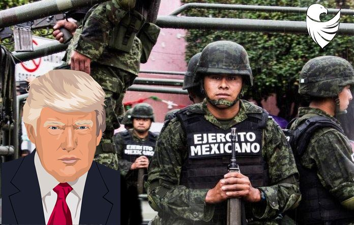Trump and Luis Kresciano Sandoval on a common front