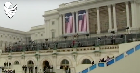 Well, Well, Well, Obama's Inauguration Featured the Betsy Ross Flag