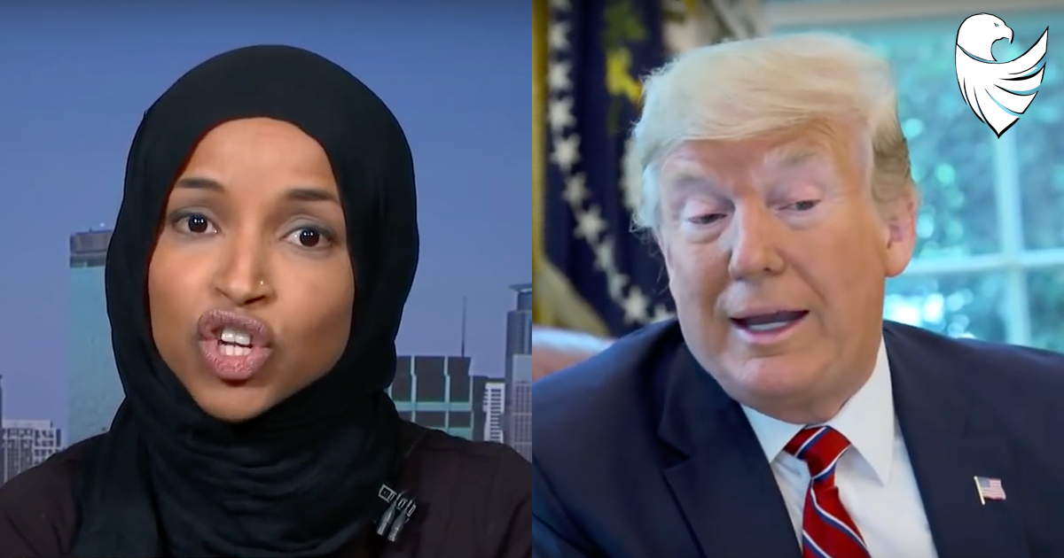 "Ilhan Omar Declares ""I Was Elected to be a Check and Balance to the Cruelty "" of Trump"