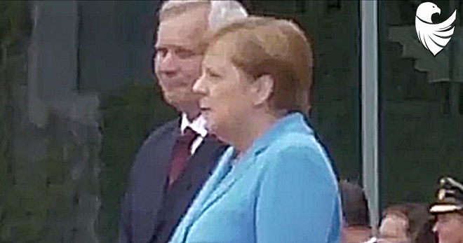 VIDEO: Merkel Suffers THIRD Bout of Public Shaking