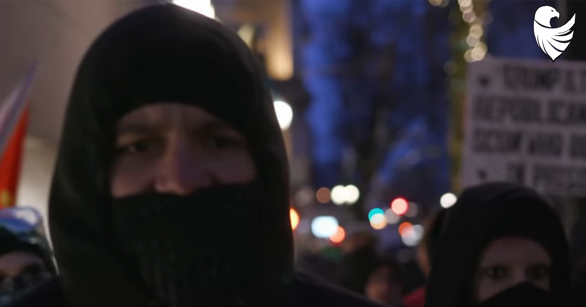 Portland Police Calling for New Law that Would Outlaw Antifa's Masks