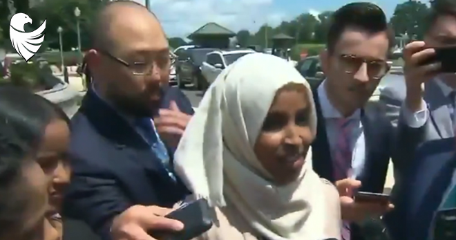 WATCH: Ilhan Omar Rips President Trump and His Supporters