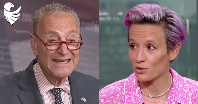BREAKING: Megan Rapinoe Accepts Invite to Visit Chuck Schumer