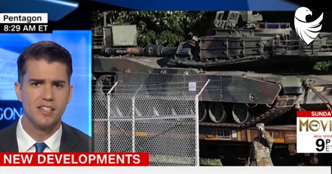 Tanks Spotted in D.C. Area for Trump's July 4th Celebration!